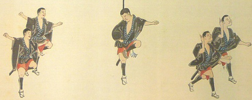 晴圃『西尾 祇園祭 肴町大名行列』絵巻