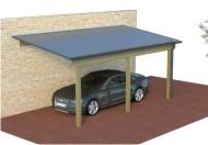 MULTI Pultdach Carport aus Holz mit Preis Online berechnen