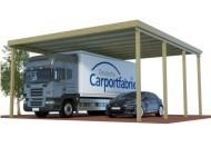 Caravan-Carports mit einer Höhe von bis zu 3,90 Durchfahrt
