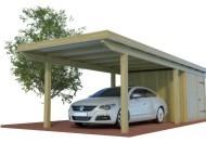 Quadro Carport mit Abstellraum aus Holz online mit Preis berechnen