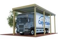 Unsere hochwertigen Caravan-Carports mit extra starken Pfosten