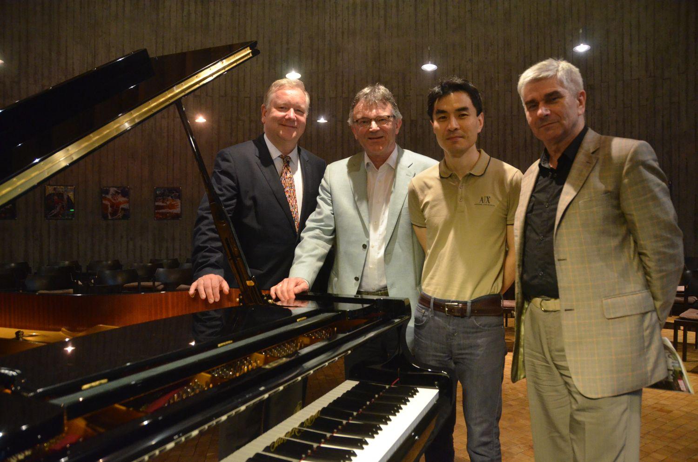 Prof. Georg Friedrich Schenck, Dr. Kurt Kreiten, Prof. Yong Kyu Lee, Prof. Boguslaw Jan Strobel