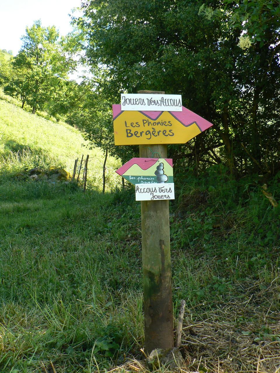 le sentier des Phonies bergères 2014