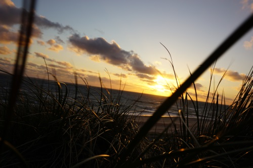 Sonnenuntergang auf Fehmarn // Photo by Fiona Lynn Hafner