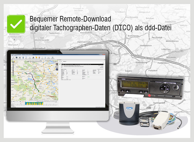 Download digitaler Tachographendaten DTCO