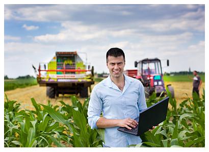 Landmaschinen-Ortung mit GPS hat viele Vorteile