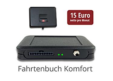 Elektronisches Fahrtenbuch Komfort-Version
