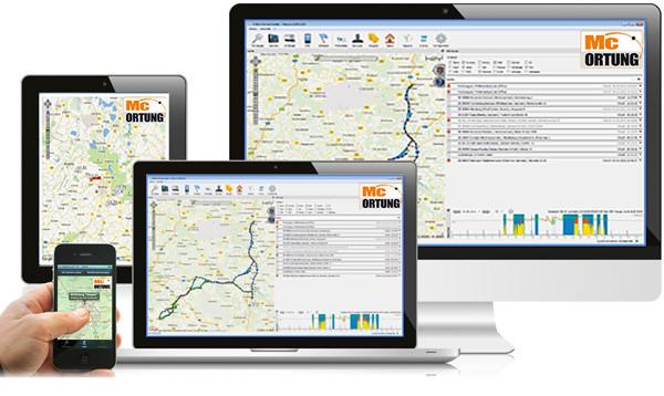 GPS Ortung + Datenauswertung einfach mit der Auswerte-Software, Web-Portal und APP