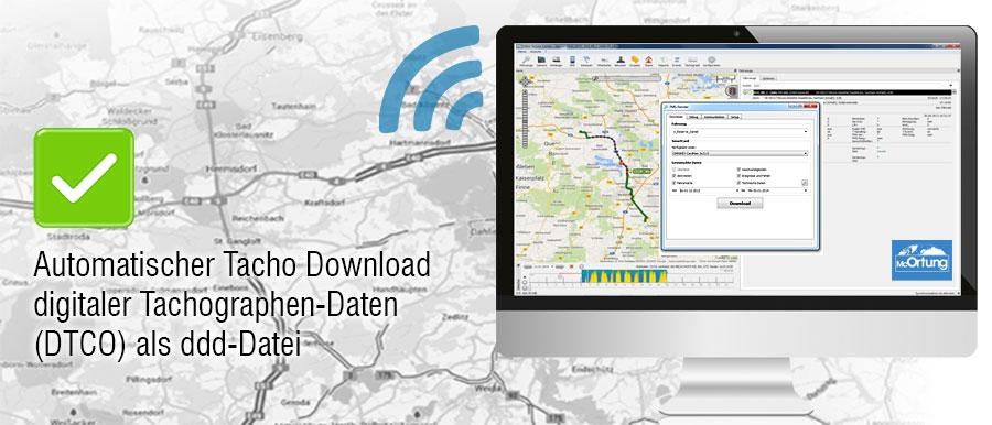 Automatischer Tachodownload (DTCO) mit OSCpro (Desktopsoftware)