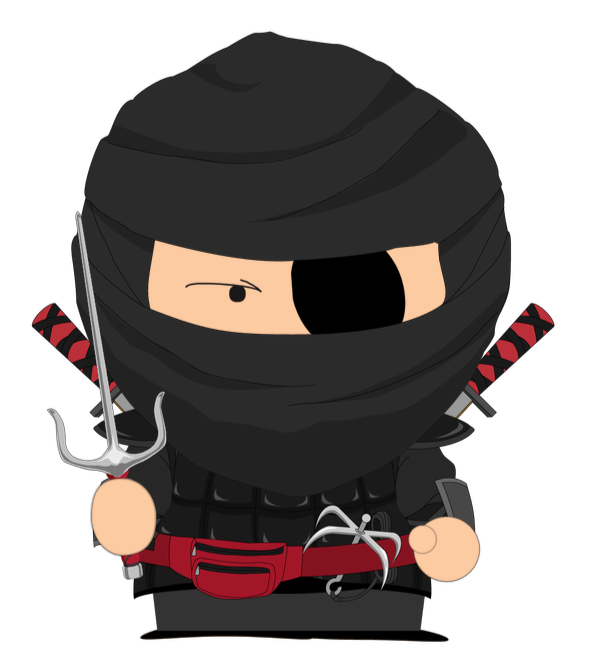 i like write code like a ninja for become a sensei