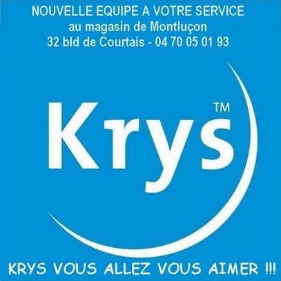 Nouvelle équipe à votre service, 32 boulevard de Courtais 03100 MONTLUCON France : 04 70 05 01 93, KRYS VOUS ALLEZ VOUS AIMER !!!
