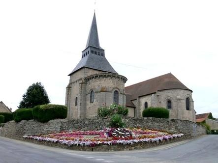 Boussac et  l'église du bourg