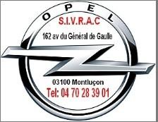 Sivrac 162 av Gl de Gaule 03100 Montluçon.04 70 28 39 01