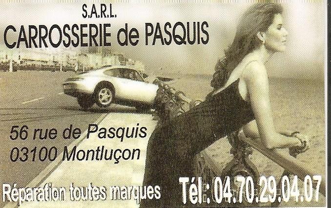 Carosserie Pasquis rue de Pasquis, Montluçon