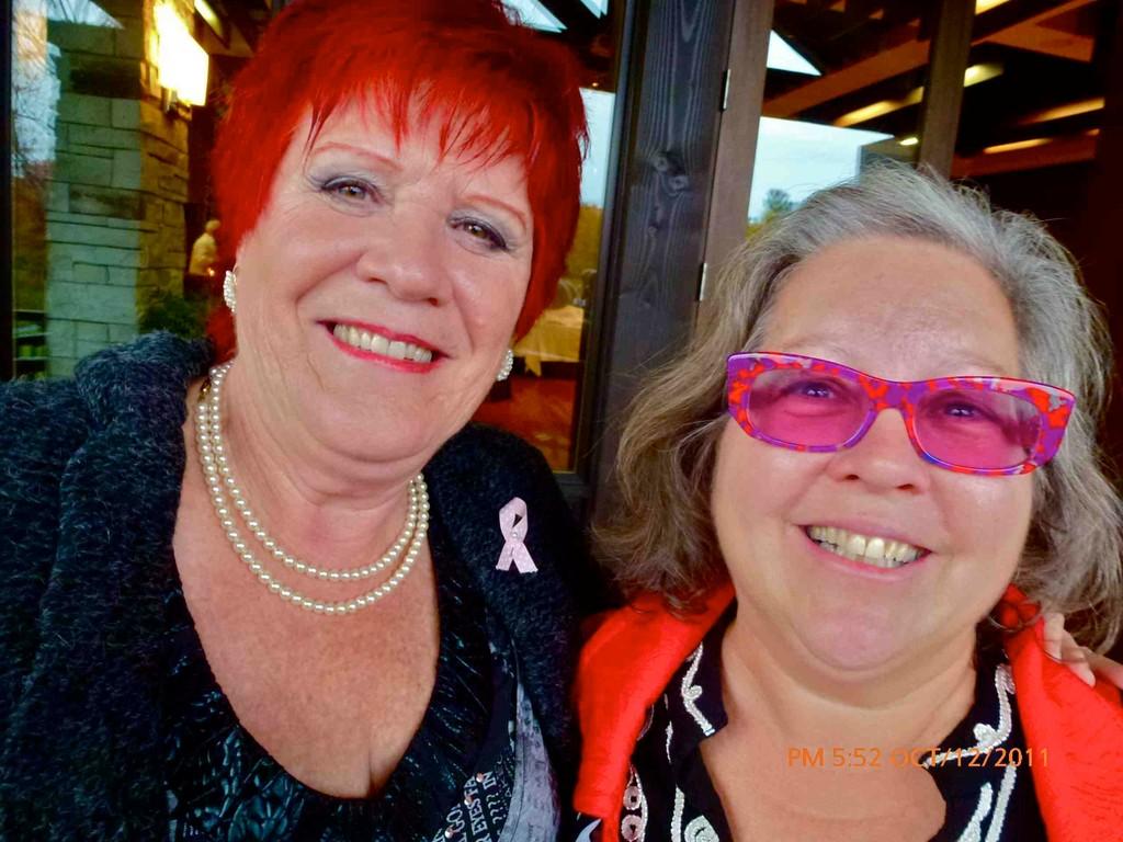 Sue Murphy et moi