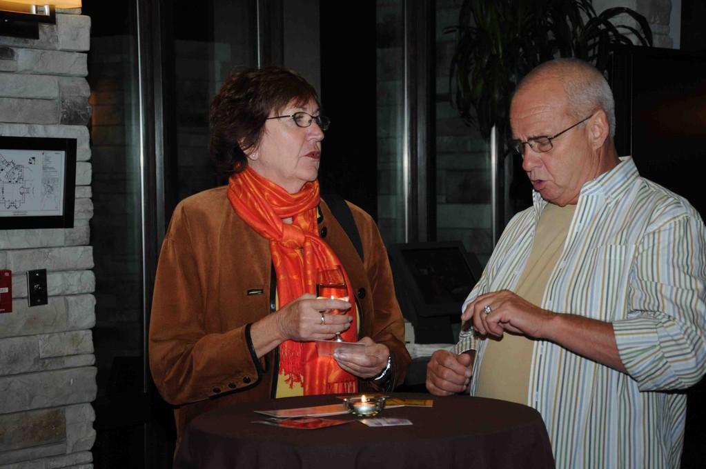 Janine Thibault et Normand Lafortune.