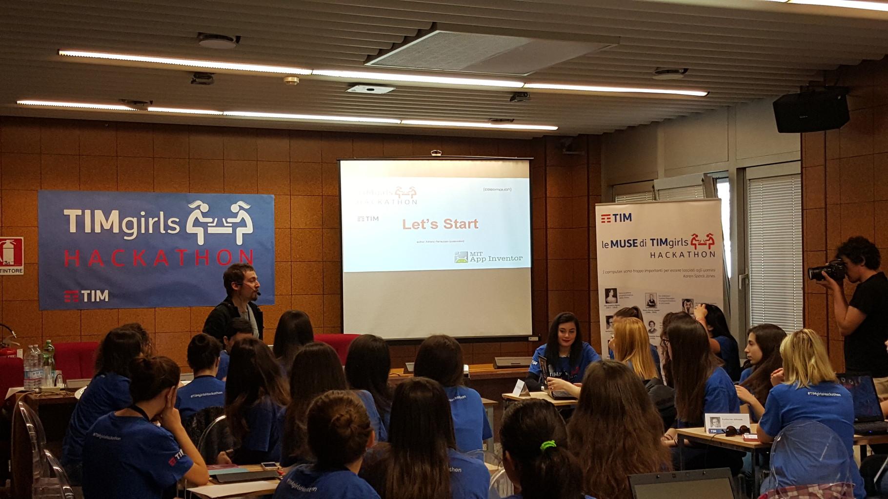 Introduzione del programma   (Ph. Beatrice Artizzu)
