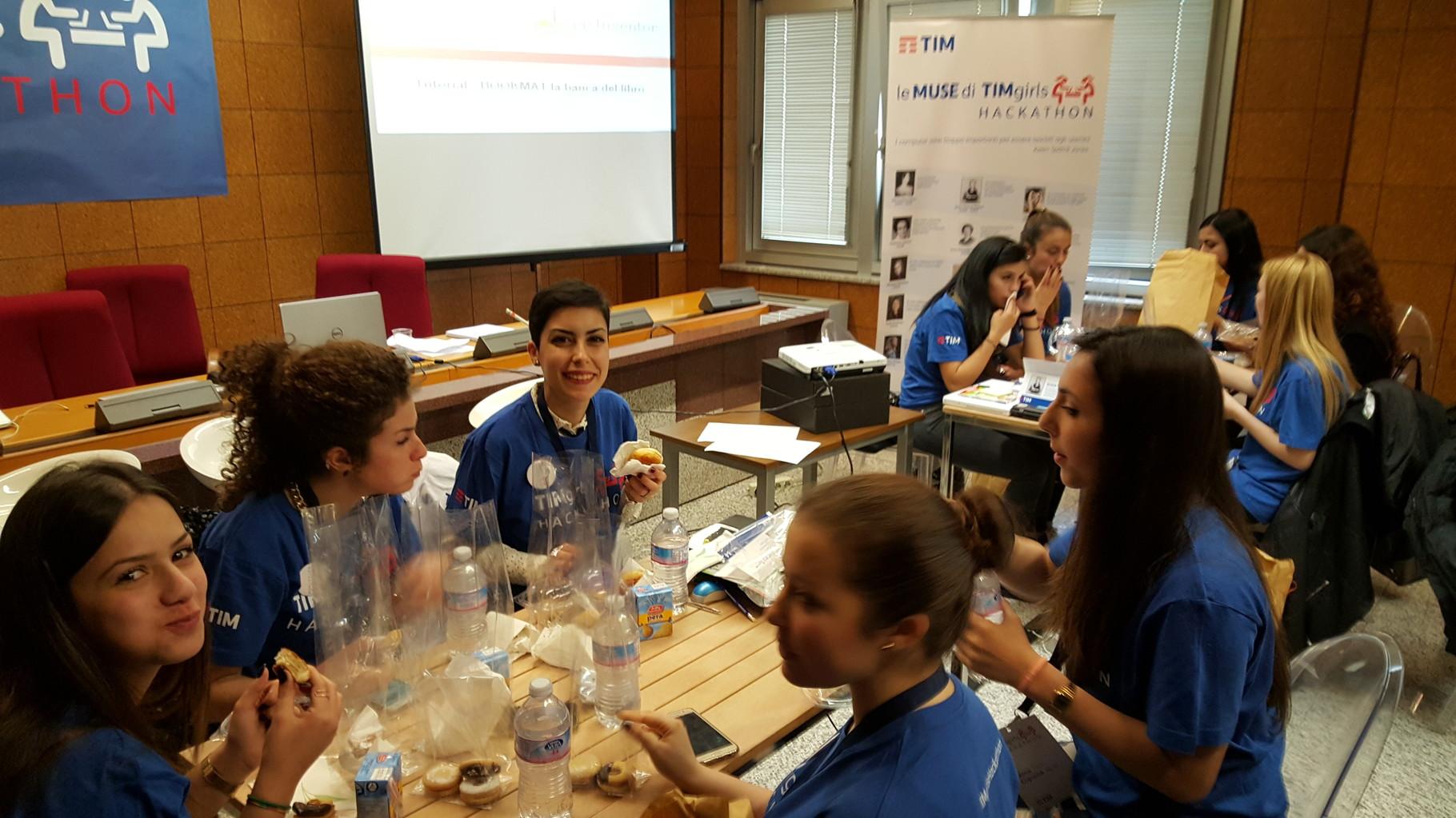 Pausa pranzo    (Ph. Beatrice Artizzu)