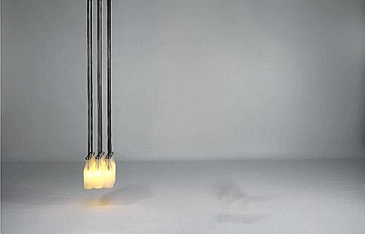 Tejo Remy, Milk Bottle Lamp, 1997