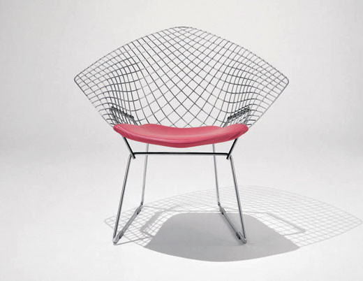 Harry Bertoia, Poltrona Diamond, 1952,