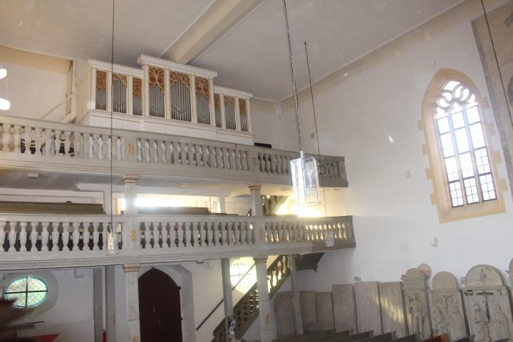 Unsere 150-jährige Orgel