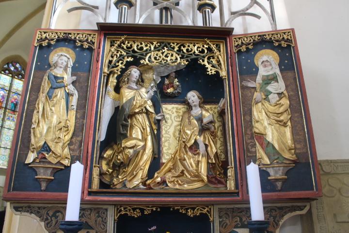 Gabriel verkündet Maria die Geburt Jesu