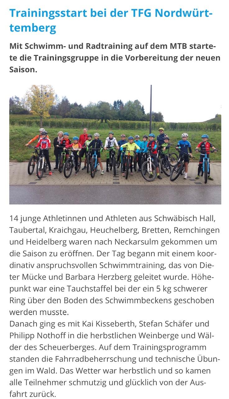 30.09.2019 Baden-Württembergischer Triathlonverband e.V.