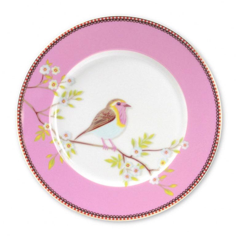 Pip Studio Essteller Lovely Branches Early Bird Blau 26,5 cm