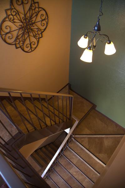 3階までは、階段です。