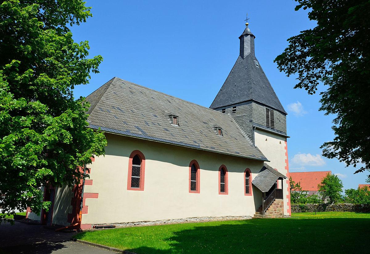 Kirche Hachborn I Bildquelle: Hydro bei Wikipedia
