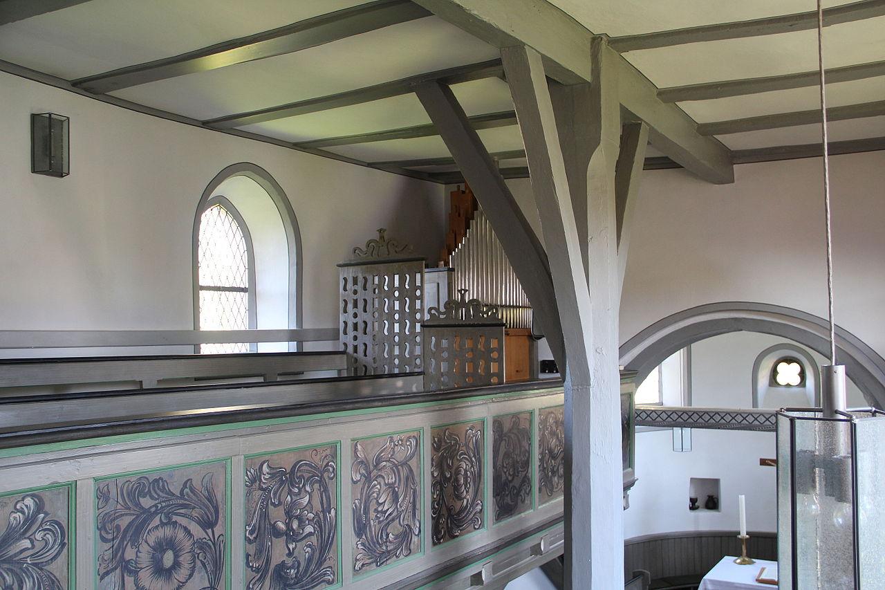 Kirche innen Oberwalgern, Bildquelle: Gerold Rosenberg, wikipedia