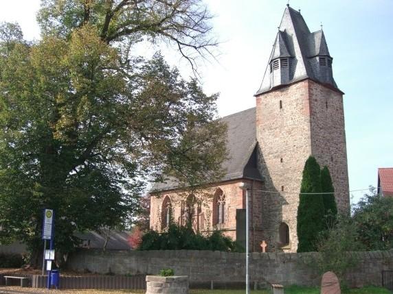 Kirche Wenkbach Wehrkirche, Bildquelle: Stefan Weisbrod, wikipedia