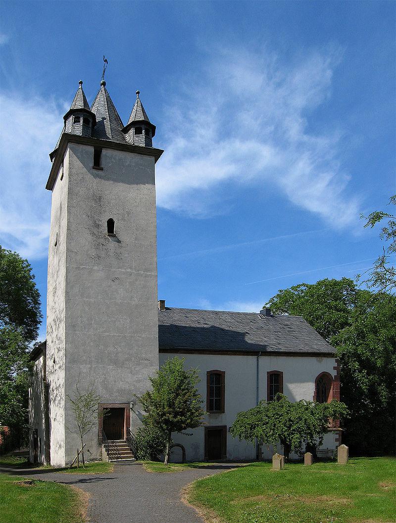 Kirche Ebsdorf I Bildquelle: Pfr. Dr. Eric Weidner