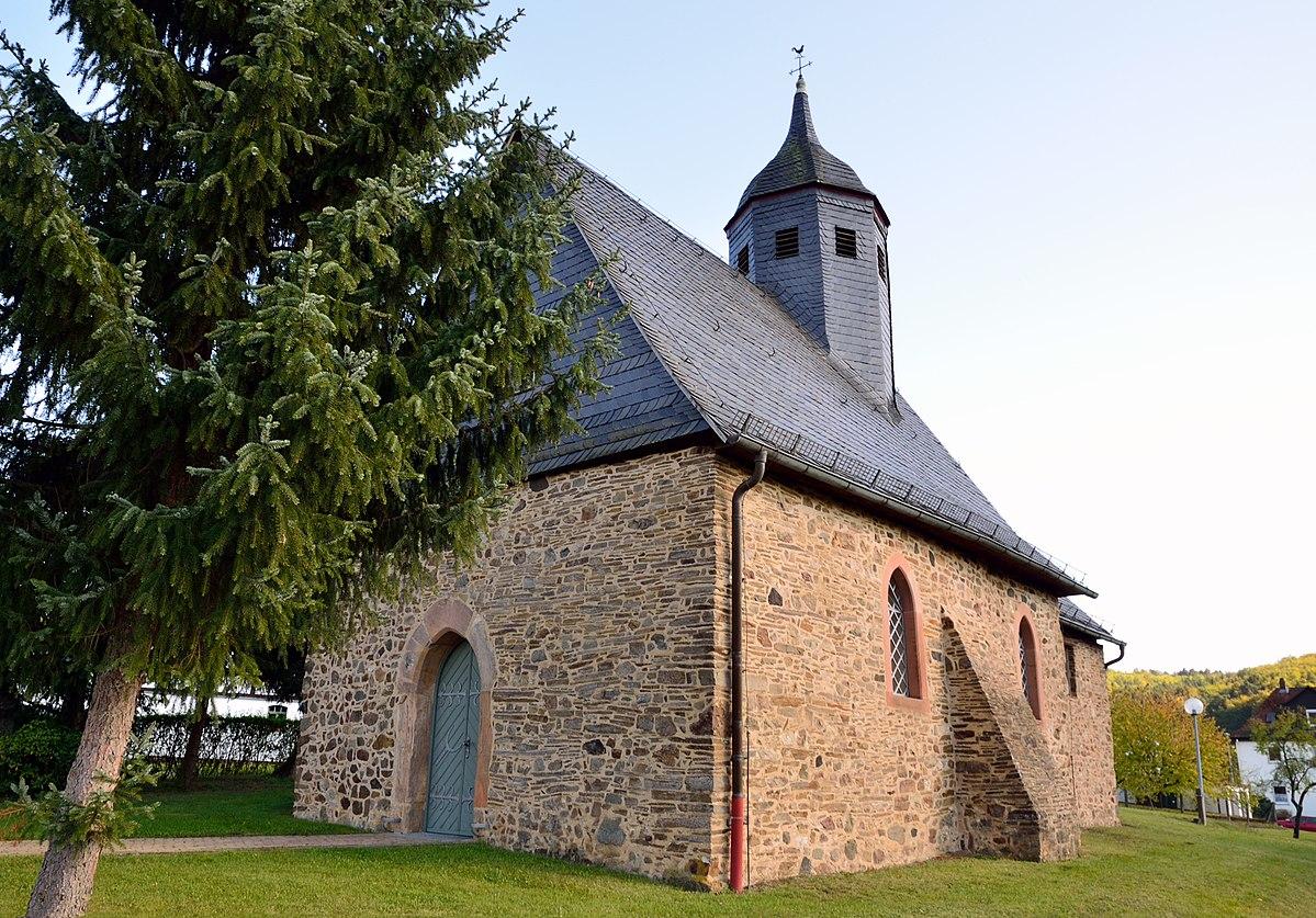 Kirche Rollshausen, Bildquelle: Hydro, Wikipedia