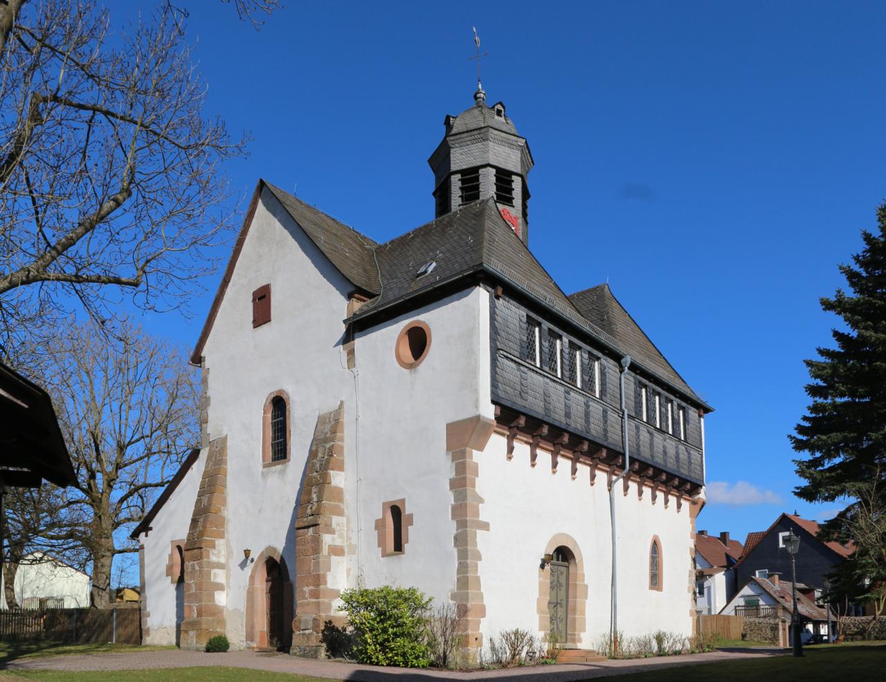 Kirche Lohra, Bildquelle: Gerold Rosenberg, Wikipedia