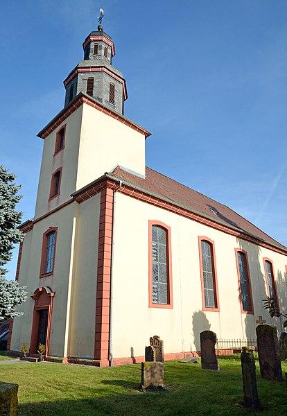 Kirche Oberweimar, Bildquelle: Hydro, Wikipedia