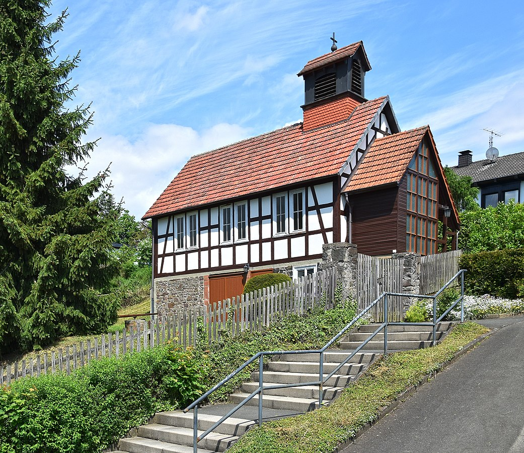 Kirche Haddamshausen, Bildquelle: Hydro, Wikipedia