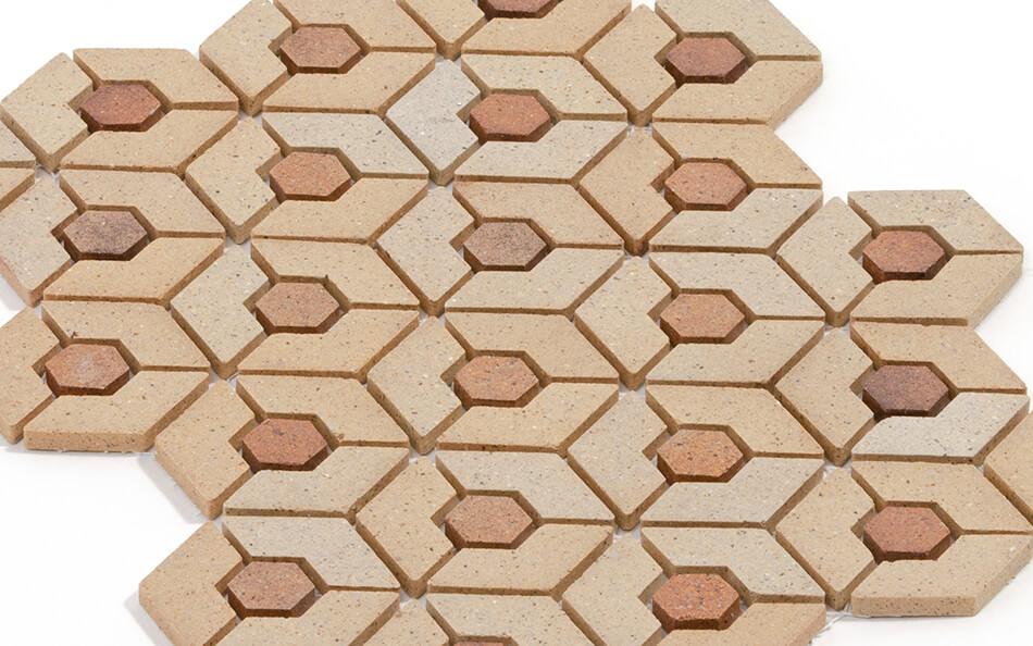 ナチュレ亀甲貼パターン例