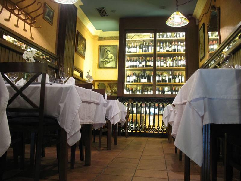 Mesas del restaurante Casa Paca