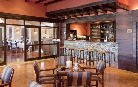 Bar del restaurante del Parador de Sos del Rey Católico