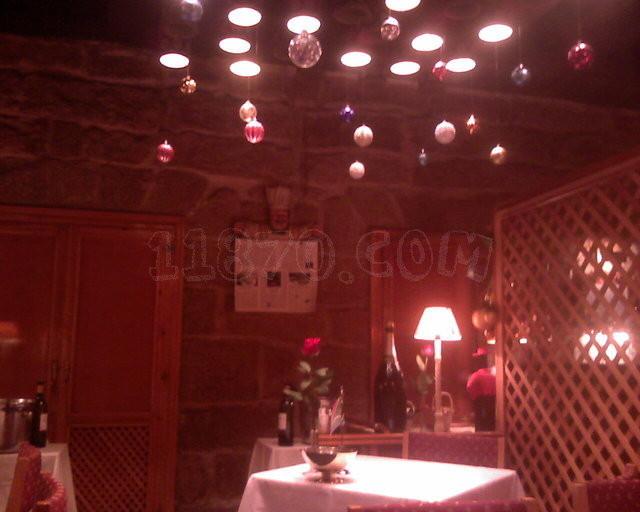 Mesas del Restaurante Charolés