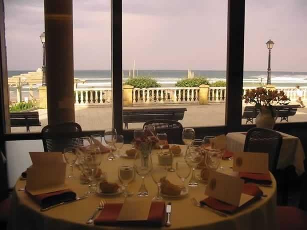 Vistas del restaurante Arguiñano