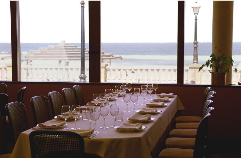 Mesas restaurante Karlos Arguiñano
