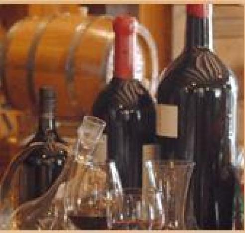 Bodega de vinos del restaurante La Orza de Toledo
