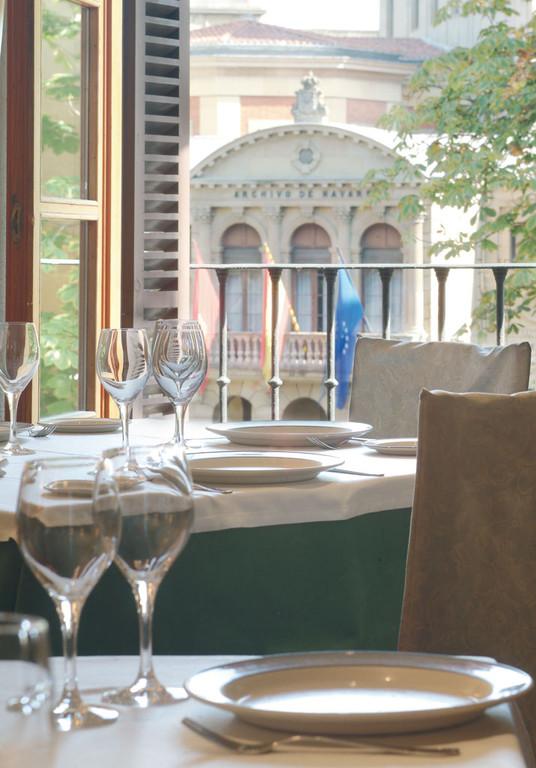 Restaurante en centro de Pamplona
