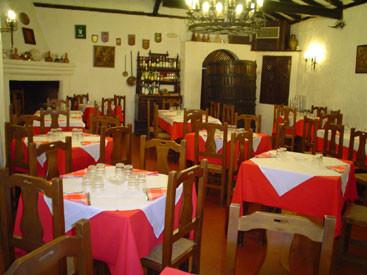 Salones del Restaurante Mesón Cuevas del Murciélago de Chinchón