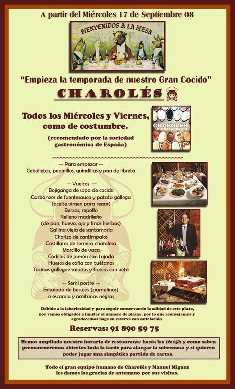 Restaurante cercano al Monasterio del Escorial