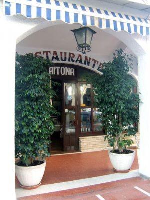 Entrada del restaurante Aitona de Benidorm