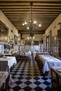 Salones Restaurante Botín en Calle Cuchilleros de Madrid