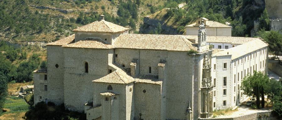 Vistas del Parador del convento de San Pablo en Cuenca
